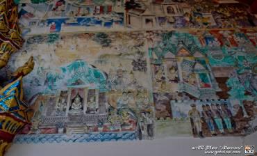 ภาพจิตรกรรมฝาผนังวัดศรีคุณเมือง