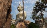 องค์พระพุทโธ ด้านข้าง