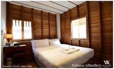 ห้องติดโถงบน (เตียงเดี่ยว) วิท อะ วิว(With A View Hotel)