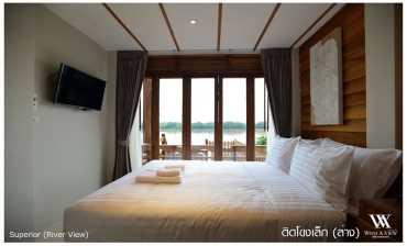 ห้องติดถนน เตียงเดี่ยว วิท อะ วิว(With A View Hotel)