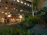 บริเวณหน้าโรงแรมใบบุญเพลส (กลางคืน)