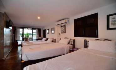 ห้องพักสำหรับ 4 ท่าน (ห้องที่1) บ้านสุขนิยม
