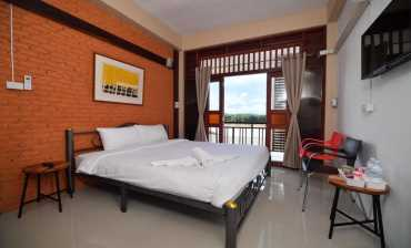 ห้องพักสำหรับ 2 ท่าน (ห้องที่2) บ้านสุขนิยม