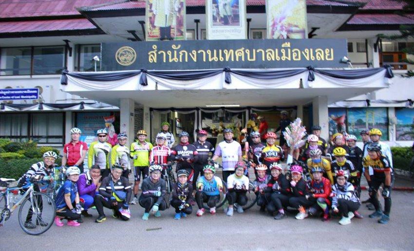 โครงการเสริมสร้างสุขภาพด้วยการขับขี่จักรยานประจำปี2560