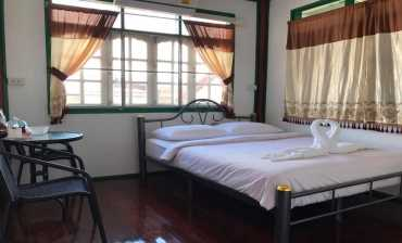 ห้องนอน ทริปเปิลซี โฮสเทล