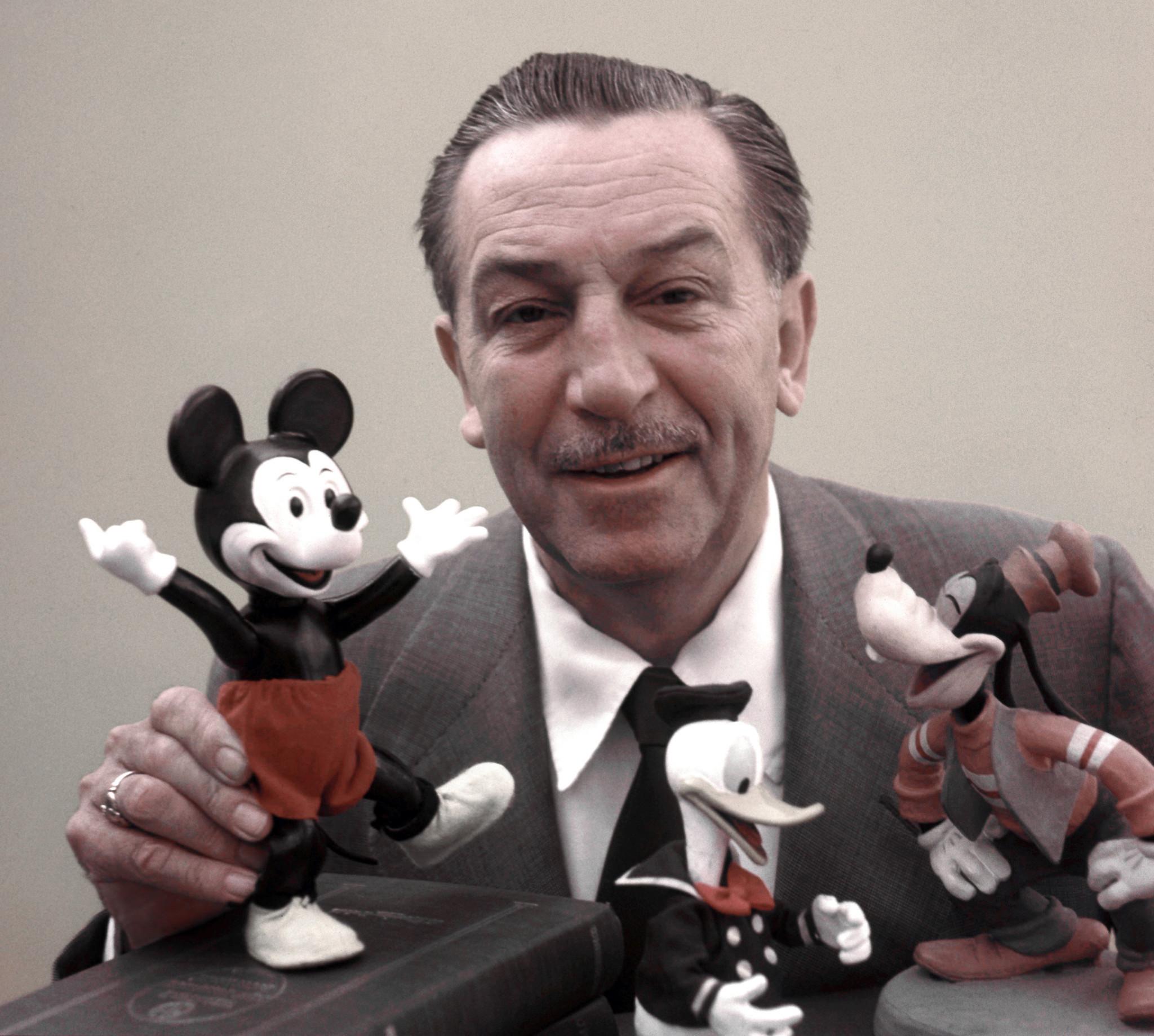วอลท์ ดิสนีย์ (Walt Disney) คนดังที่เคยล้มเหลว