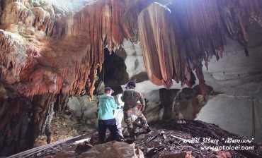 ความงดงามของหินย้อยในถ้ำนรก