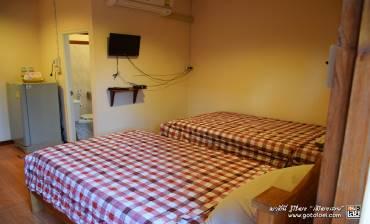 ห้องพัก2 เตียง เรือนบัวรีสอร์ท