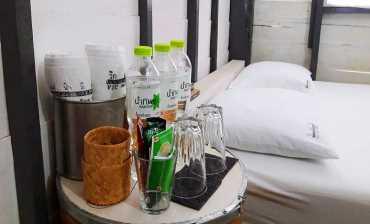เครื่องดื่มในห้องพัก แม่น้ำมีแก่ง